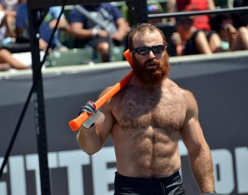 Ginger Hair Ball of the Day: Crossfit Champion, Lucas Parker: Photos & Video