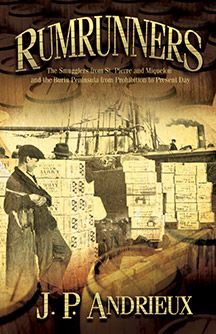 Rumrunners is a history of the smuggling trade between the French Island colonies of St. Pierre and Miquelon and the United States, the Bahamas, and Newfoundland. This book details the rise and fall of the bootlegging industry in Atlantic waters, the efforts made by the Royal Canadian Mounted Police to curb these criminal activities, and the evolution of laws from the Prohibition era to present day that have brought the trade to a virtual standstill.
