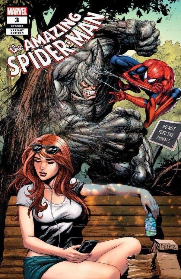 AMAZING SPIDER-MAN #25 MARY JANE TYLER KIRKHAM VARIANT VENOM