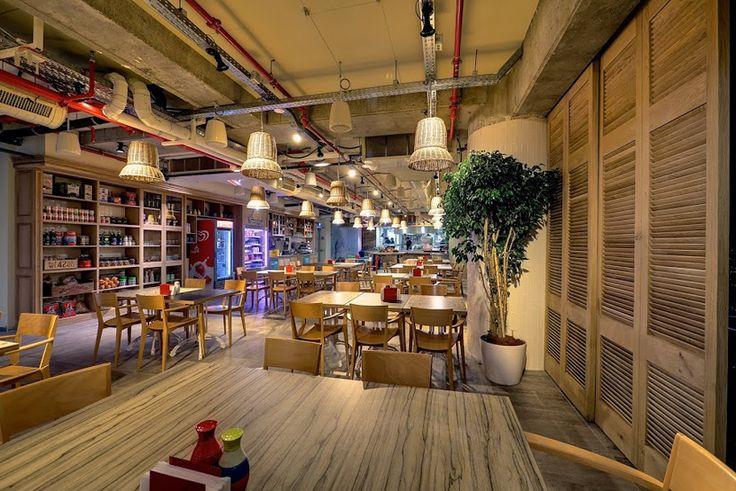 google tel aviv cafeteria