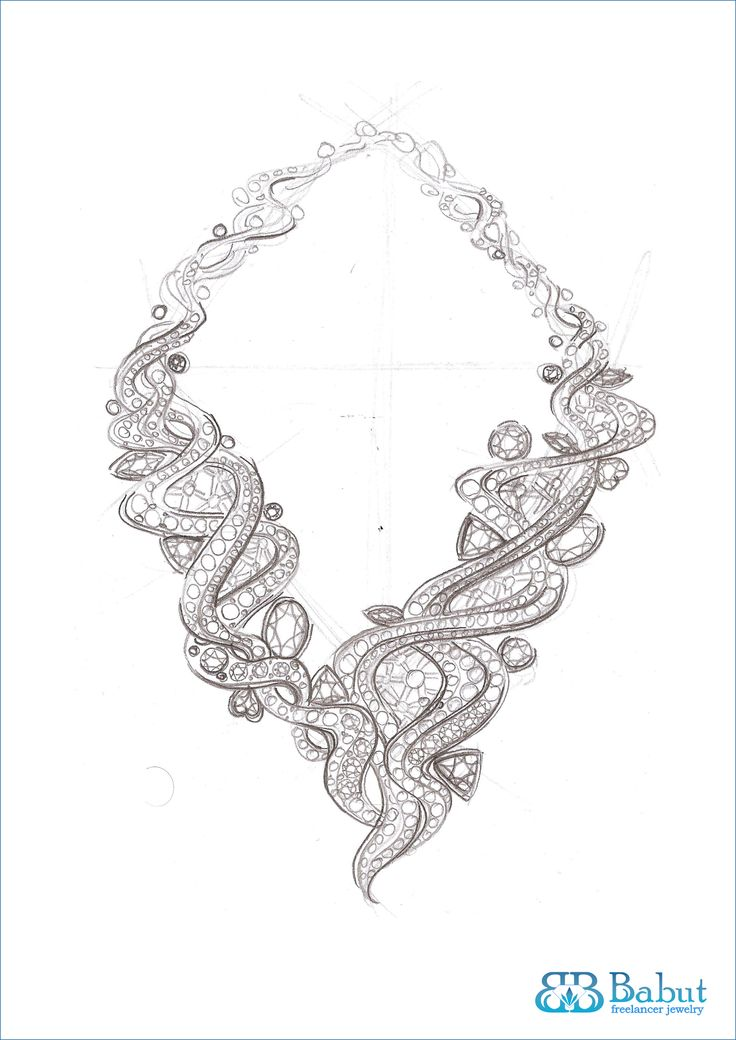 Pencil Sketches Of Jewellery
