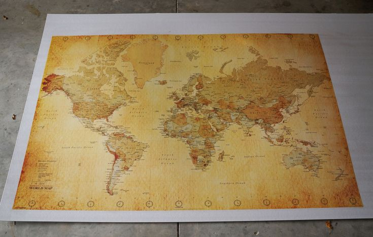 17 Best images about World Map DIY on Pinterest Watercolors Piece of cakes