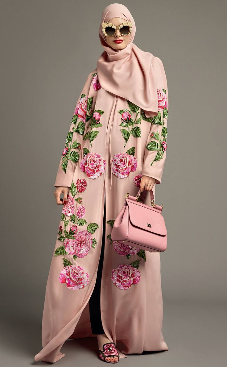 Tweed Rose: New Season SS'17: Abaya Collection by Dolce & Gabbana