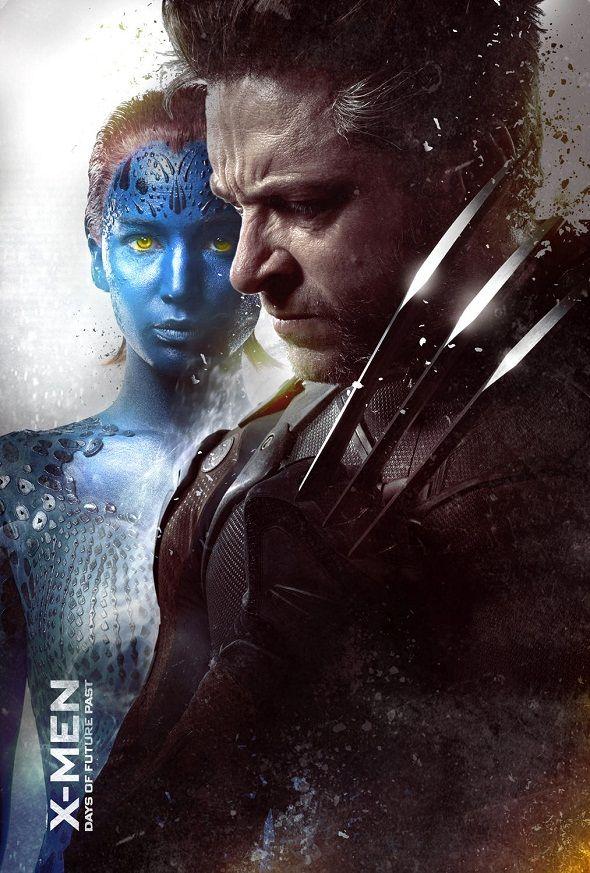 Lobezno y Mística en el nuevo póster de 'X-Men: Días del futuro pasado'