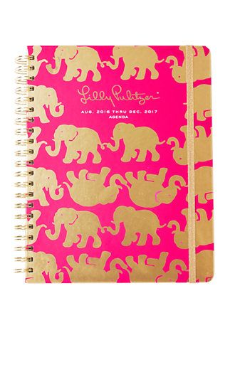 Lilly Pulitzer 2016-2017 Large Agenda - Tusk In Sun  THSI IS THE ONE I WANT!!!!!!