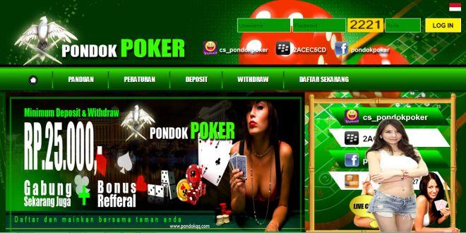 PONDOKPOKER – Agen Poker Online, DominoQQ Terpercaya