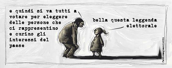 Leggende metropolitane... #IoSeguoItalianComics #Satira #Politica