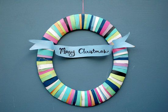 Paperbag Wreath at Bloesem Kids viai You Are My FaveVintage Paper, Holiday Wreaths, Paper Wreaths, Diy Christmas Wreaths, For Kids, Paper Bags, Bags Wreaths, Merry Christmas, Crafts