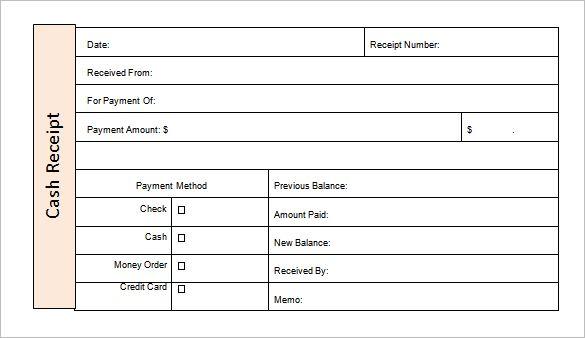 Money Receipt Template - 27+ Free Word, Excel, PDF Format | Free & Premium Templates