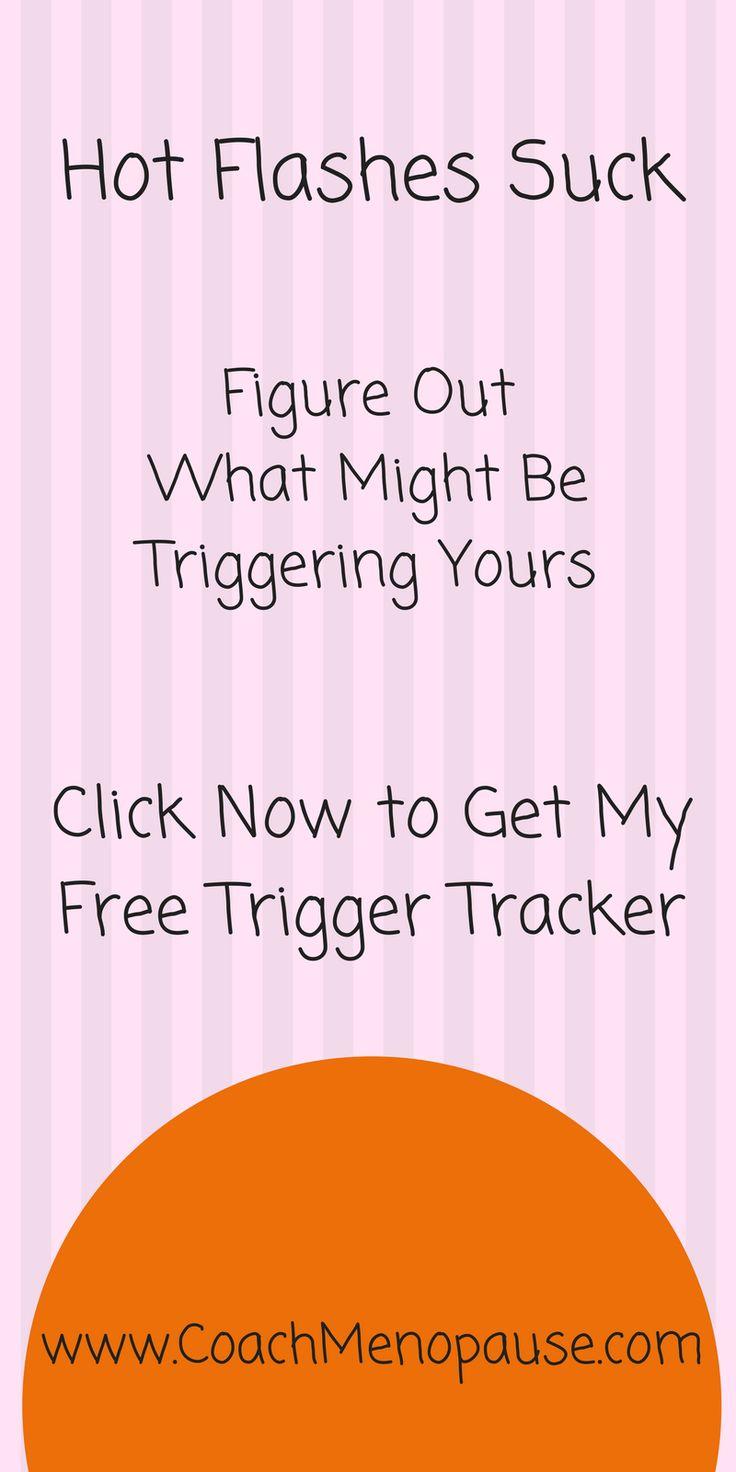 Hot Flashes Suck | Trigger Tracker | Menopause | Perimenopause | Hot Flashes | Night Sweats | Hot Flushes