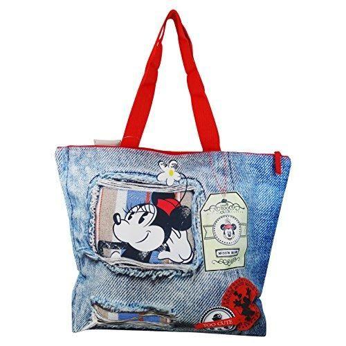 Oferta: 28€. Comprar Ofertas de Disney Minnie Denim Bolso de Mano Para Mujer Chica para la Playa y lo Shopping Fashion barato. ¡Mira las ofertas!