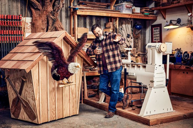 Life Lessons From Nick Offerman, the World's Funniest Woodworker