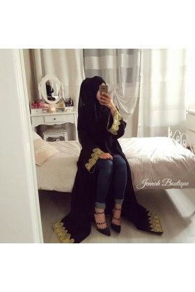 Abaya kimono GOLD