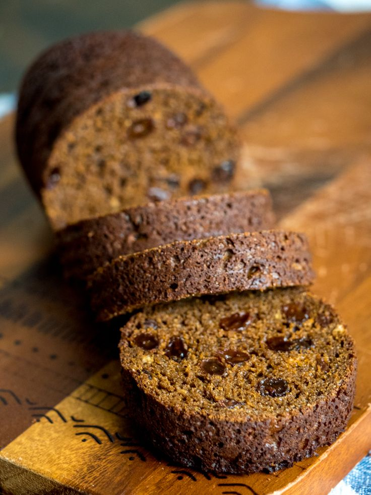 Old-Fashioned Boston Brown Bread- Memories from childhood baked by my G-Ma
