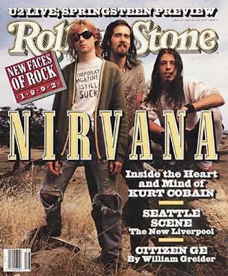 NirvanaRolls Stones Covers, Nirvana, 1992Rolingstonecoverjpg 395480, Rollingstones, Rolling Stones, Rolling Stone Covers, Music Pictures, Magazines Covers, Kurt Cobain