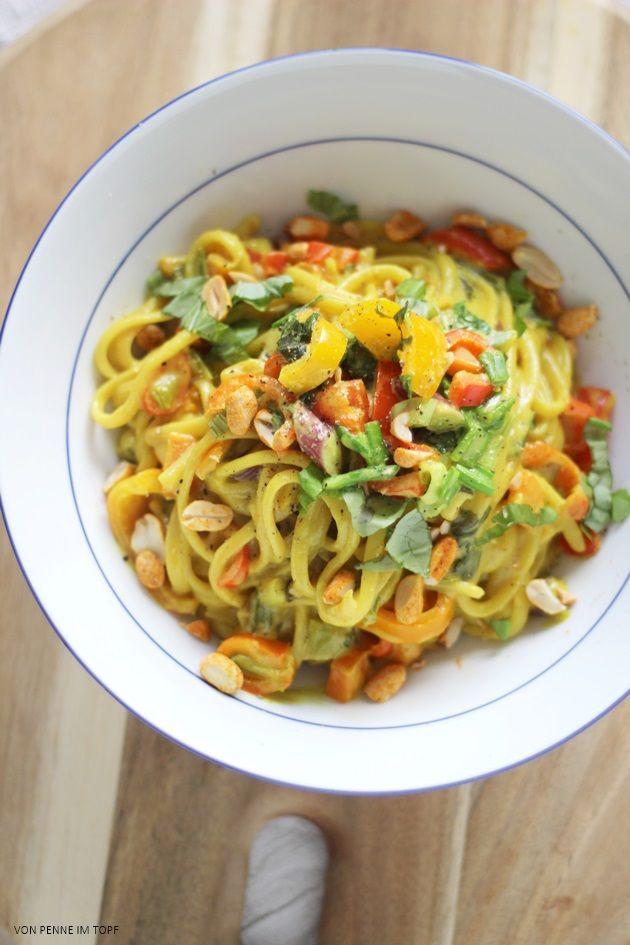 Curry kokospasta