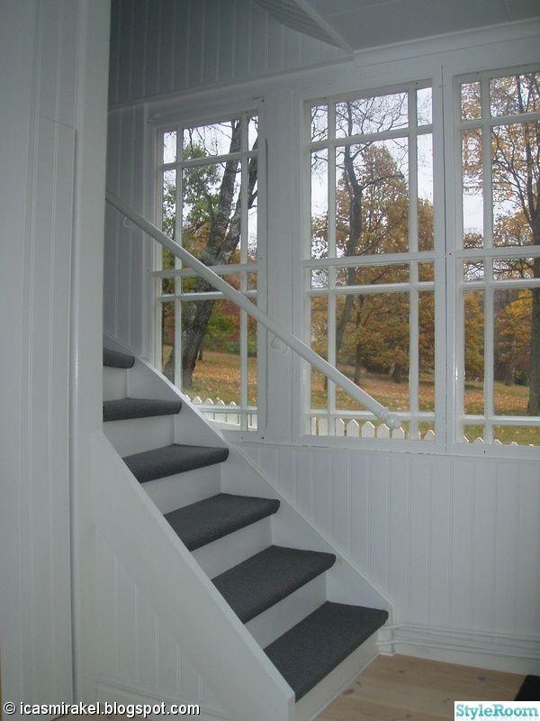 trappa,heltäckningsmatta,glasveranda,vitt