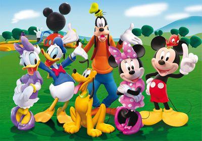 Los personajes de La Casa de Mickey Mouse