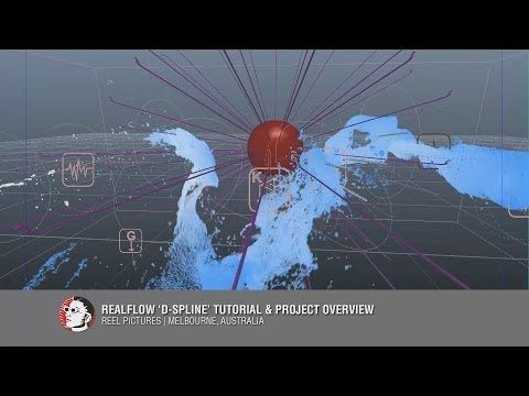 RealFlow Dspline tutorial & project overview - YouTube