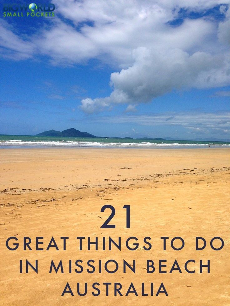 21 Great Things to do in Mission Beach, North Queensland, Australia {Big World Small Pockets}