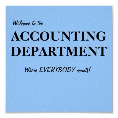 Great idea, join Home Team Systems and join an accounting department that makes you count.