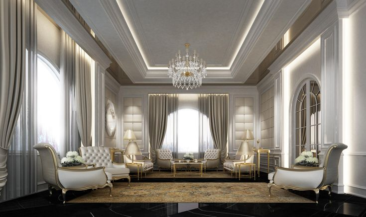 Arabic majlis designs ions design interior design for Interior design qatar