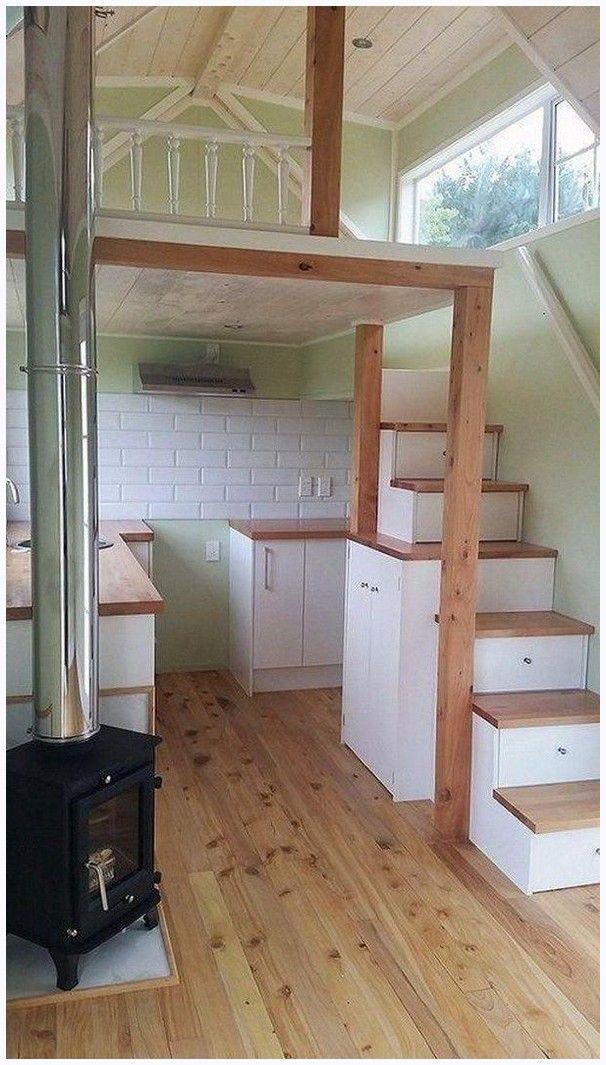 38 Affordable Diy Tiny House Remodel Ideas To Copy Right Now Kliksaya Me Tiny House Loft Tiny House Interior Design Tiny House Stairs