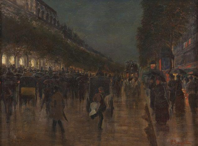 Parigi di notte by Pietro Scoppetta