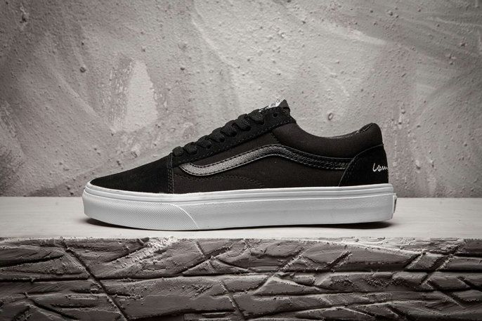 Larry Clark x Vans Old Skool Black All C219 Shoe Vans For