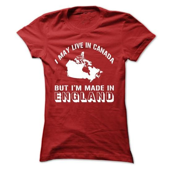 MADE IN ENGLAND - #cool shirts #hoodies womens. SECURE CHECKOUT => https://www.sunfrog.com/States/MADE-IN-ENGLAND-Red-dexq-Ladies.html?id=60505
