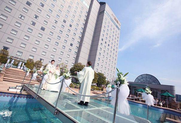 フォトギャラリー | ガーデンチャペルでアクアウェディング ホテルイースト21東京【公式】