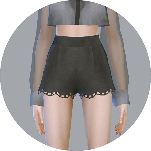 Wave Hot Pants at Marigold via Sims 4 Updates