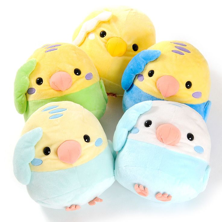 Kotori Tai Budgerigar Bird Plush Collection (Big)