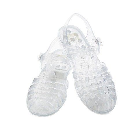 Jelly Sandals | 21 Smells '90s Girls Will Never Forget Basically, it turns out Eau de Plastique is the scent of the '90s.