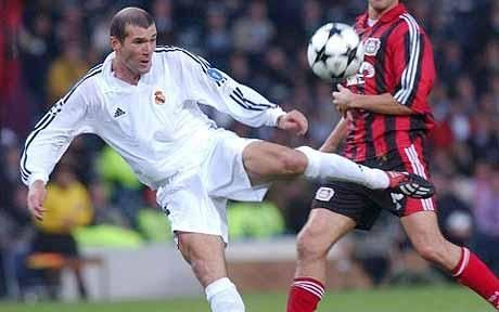 Zinedine Zidane. Perfect gesture, unbelievable goal. This guy had mad skills and a... hot temper.