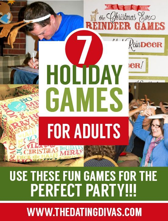 I love adult only Christmas parties and these awesome games will make the party even better! www.TheDatingDivas.com