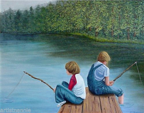 20 best images about landscape art on pinterest for How many fishing rods per person in texas