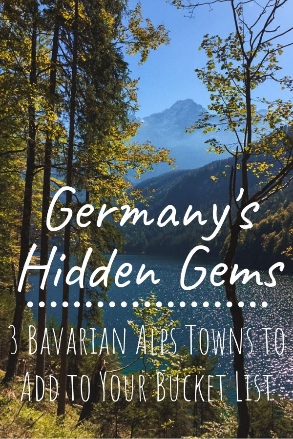Looking for a hidden gem in Germany? Look no further than the Bavarian Alps and …