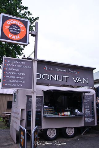 The Berry Donut Van, Berry, NSW. This place has THE best donuts ever. You can watch them make the donuts fresh in front of you.