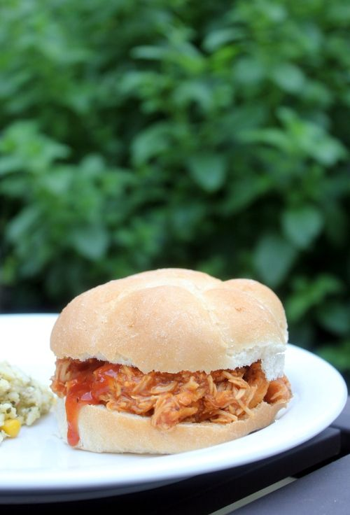 Slow cooker beer bbq pulled chicken