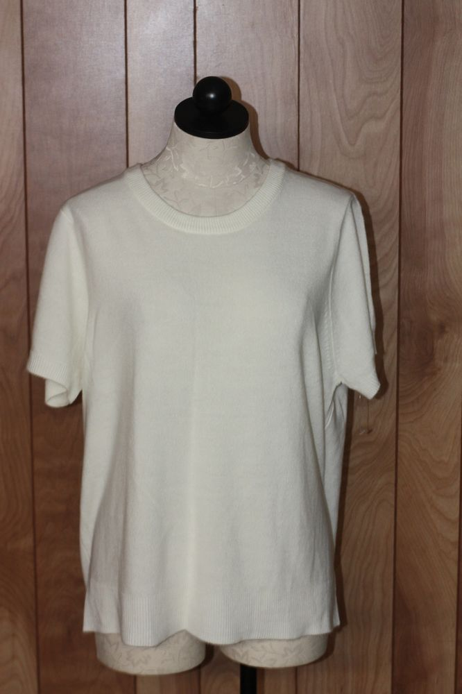 WOMEN'S BLAIR IVORY KNIT TOP-SIZE: XL #BLAIR #KnitTop #Casual