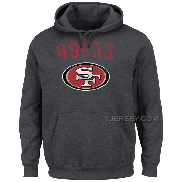http://www.yjersey.com/san-francisco-49ers-majestic-kick-return-ii-pullover-hoodie-charcoal.html SAN FRANCISCO 49ERS MAJESTIC KICK RETURN II PULLOVER HOODIE CHARCOAL Only 45.00€ , Free Shipping!