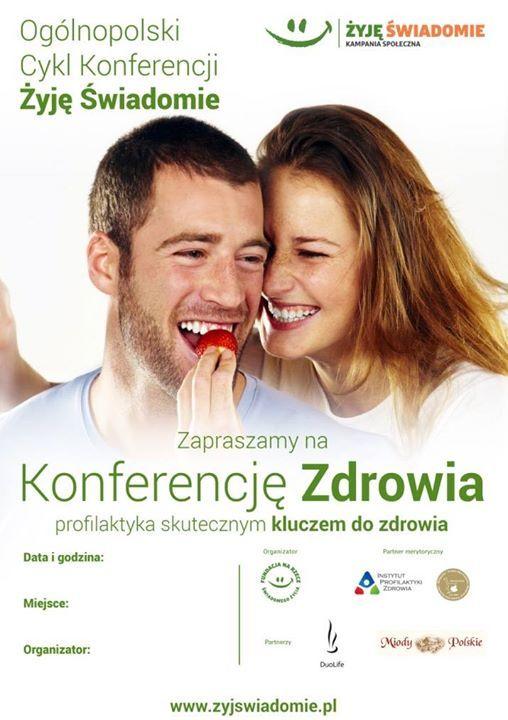 """W konferencjach """"Żyj Świadomie"""", uczestniczy kilka tysięcy osób tygodniowo!😮 Coraz więcej osób dba o swoje zdrowie 🙂☺👌  Polecam Wam serdecznie w najbliższy piątek 10 marca wykład w Bielsku-Białej z dietetyk Bożena Kropka - cenioną specjalistką od spraw leczenia żywieniem.  ➡Dokładny harmonogram konferencji w innych miastach na https://myduolife.com/link/39f6b5662b5ebd5c"""