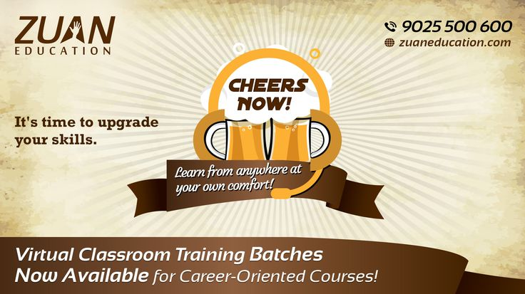 Learn Anywhere from your own comfort! @zuaneducation launches Virtual Classroom Training for busy professionals. Know more information from ‪#‎ZuanEducation‬'s Blog post. http://www.zuaneducation.com/blog/virtual-classroom-training-career-oriented-courses