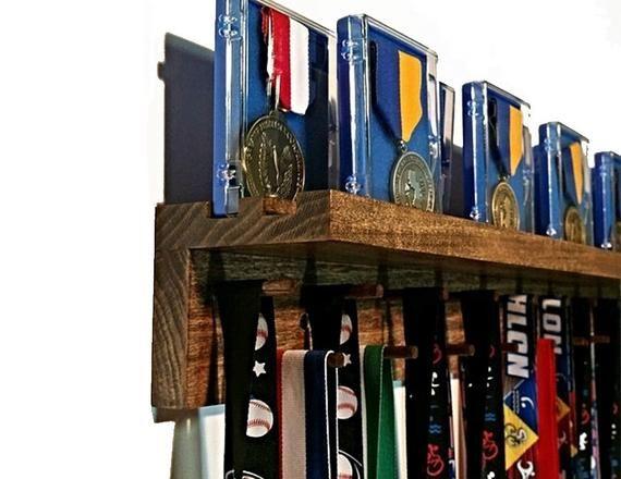 Premier 4ft Medal Hanger Award Display And Trophy Shelf Award