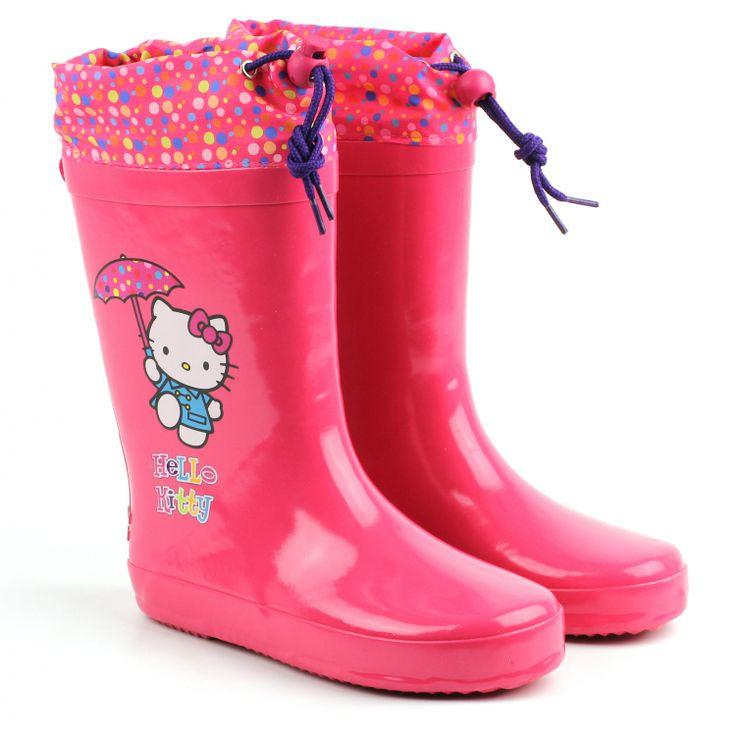 Для девочек - Сапоги для девочек Hello Kitty HK41 | PLATO - мода доступна кожному