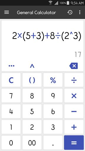 ClevCalc - Calculator v2.14.6 [Premium]   ClevCalc - Calculator v2.14.6 [Premium]Requirements:4.0.3Overview:This calculator allows you to easily handle all the calculations necessary for everyday life with a single application. A calculator app with a clean interface and practical functions!  List of calculators currently supported:  1. General Calculator  Supports the four fundamental arithmetic operations square formula's parenthesis and simple engineering functions.  Quick and easy…