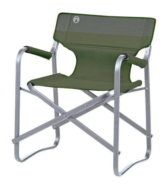 Coleman Chaise De Camping Deck 62 X 53 X 78 Cm Vert Campingaz
