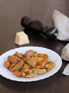 PATATE CACIO E PEPE AL FORNO ricetta contorno facile con patate