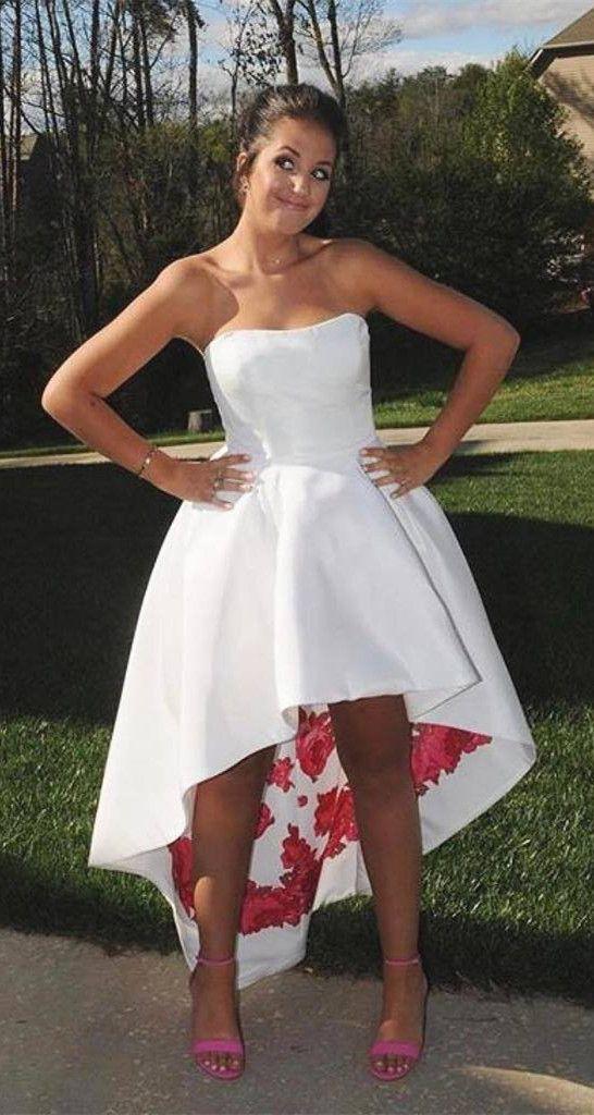 Spring High Low Formal Dresses